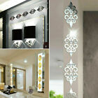 3d-mirror Flower Removable Wall Sticker Art Acrylic Mural Decal Wall Home Decor