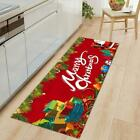 Christmas Flannel Kitchen Mat Carpet Rug