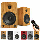 Kanto YU6 Active Bluetooth Speakers APTx Optical RCA Built in Phono Stage 200W