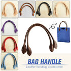1pair Real Genuine Cow Leather Handle For Luxury Handbag Replacement Handles