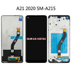 For Samsung Galaxy A21 2020 A215 Black LCD Touch Screen Digitizer Frame Assembly