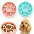 Dog Water Slow Feeder Pet Dog Anti-Gulping Bowls For Small Large Dogs Cat