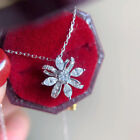 Women Pretty 925 Silver Necklaces Pendants Cubic Zirconia Jewelry Party Gifts