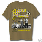 THREE STOOGES BASS ACKWARDS ADULT T-SHIRT