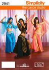 PATTERN SIMPLICITY Belly Dance I Dream of Jeannie  2941