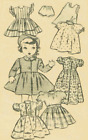 Vintage Doll Clothing  Pattern #3528