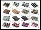 Unisex Golf/Prepster Soft Feel Striped Knitting Scarf Scarves Mens/Womens