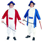 PAUL REVERE COLONIAL CAPTAIN HALLOWEEN COSTUME Outfit Adult Men 80136 80138