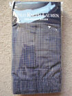Polo Ralph Lauren Mens Underwear Boxer Navy Blue Checked White NWT
