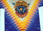"""GRATEFUL DEAD FURTHER """"TAKIN YOU FURTHER"""" 2-SIDED TIE DYE T-SHIRT NEW WEIR LESH"""