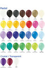"""500 plain 12""""  Large Party Balloons Choose from 24 colours"""