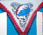 """GRATEFUL DEAD """"STEAL YOUR FACE"""" 2-SIDED TIE DYE T-SHIRT NEW GARCIA WEIR LESH  image"""