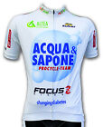 2012 Acqua & Sapone Team Short Sleeve Cycling Jersey Made in Italy by GSG