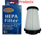 HEPA Filter Type F2 Dirt Devil Vacuum Cleaner Power Flex Flip Stick Power Reach