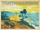 2772 COSTAL CALIFORNIA VINTAGE STYLE FUNNY GIFTS METAL WALL SIGNS, FRIDGE MAGNET