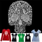 Skull Detail Hobo Designs T-shirts singlets Men's Women's Retro cool bones tee's