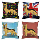 STYLISH GERMAN SHEPHERD DOG CUSHION VARIOUS DESIGNS DOG LOVER GIFT IDEA
