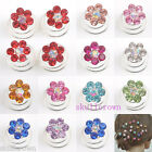 12/36pcs Crystal Flower Coils Twists Spirals Hairpin Fashion 11 Colors Wholesale