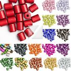 Wholesale Acrylic Plastic 3D Miracle Cylinder Beads Big & Small Size 18 Colours