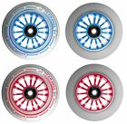 Team Dogz Pro Nylon Core Scooter Wheels White Red Blue Inc ABEC7 for Blunt MGP