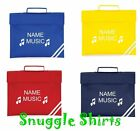 NEW PERSONALISED KIDS MUSIC FOLDER BOOK BAG