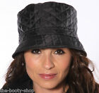 LADIES WOMENS GIRLS QUILTED DIAMOND SHOWER RAIN BUCKET COUNTRY BUSH HAT A40