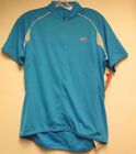 Women's 'Neo' Short Sleeve Cycling Jersey by Sugoi in Blue