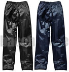 Mens Ladies Breathable Waterproof Rain Hiking Motorcycle Over Trousers Pants