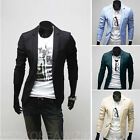 Men's Casual Slim fit Gentleman Formal Business Suit Blazer Coat Jacket new XA5