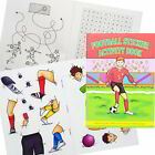 MINI A6 FOOTBALL SOCCER SPORTS ACTIVITY STICKER BOOK CHILDRENS PARTY BAG FILLERS