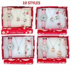 Ravel Girls Watch & Jewellery Cute Little Gems Children's Xmas Gift Set For Kids