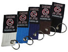 Brazilian Jiu Jitsu Key Chain Belt BJJ Keychain Key Ring
