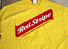 Red Stripe Jamaican Lager YELLOW Adult T-shirt