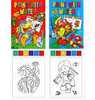 A4 PAINT WITH WATER BOOKS - SERIES 2060 - LIKE MAGIC PAINTING BOOKS - NO MESS