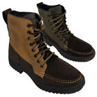 New Mens Skechers Denton Westlee Brown Leather Boot Ankle Boots Size UK 5.5-13