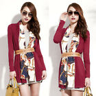Fashion Womens Cardigan Style Outerwear Thin Top Soft Scarf Long Sleeve Casual
