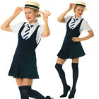 FANCY DRESS 5pc outfit SCHOOL GIRL for ST TRINIANS Nights Sz 8 10 12 14 16 18 20
