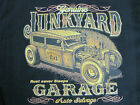 JUNKYARD GARAGE AUTO SALVAGE RAT ROD OUTLAW SPEED SHOP T SHIRT M TO 6X