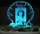 Personalized Photo Cake Topper Sweet 16 or Quinceanera Optional LED Light 8 col