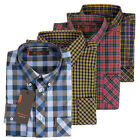 New Mens Ben Sherman Mod Easy Union Fit Gingham Check Classic Long Sleeve Shirt