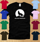 ONE MAN WOLFPACK MENS T-SHIRT X-LARGE funny awesome nerdy movie friends tee XL