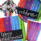 Retirement Party Tableware Balloons Banners Decorations One Listing PS