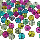 TRANSLUCENT DRAWBENCH Glass Round BEADS - Choose 4mm, 6mm & 8mm