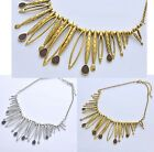 Hot Selling New Fashion Metal Bib Necklace Jewelry 2colour U pick  A1367