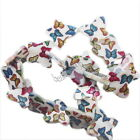 Fashion Charms Colorful Butterfly Patterned Faux Shell Loose Beads Findings