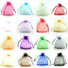 Assorted Organza Wedding Favour Bags Jewellery Pouches 5x7cm,7x9cm,9x12cm...