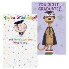 Greeting Cards - Meerkat Graduation or Congratulations You've Graduated Card