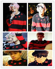 KPOP Bigbang Sweater Coat G-Dragon GD one of a kind Star Red Unisex Pullover