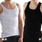 Mens BODY SHAPER COMPRESSION BELLY VEST SHAPE WEAR Tank Shirt M L XL