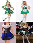 Sexy Dutch Beer Girl Outfit Costume Halloween Fancy Dress Party Plus Size 8-18